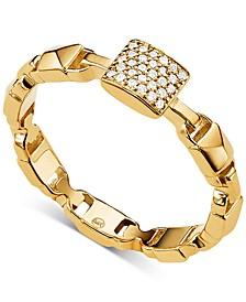 Women's Mercer Link Sterling Silver Ring