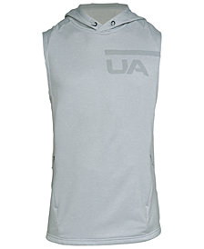 Under Armour Men's French Terry Sleeveless Hoodie