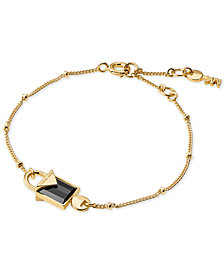 Michael Kors Women's Kors Color Semi-Precious Sterling Silver Bracelet