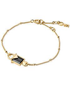 Michael Kors Women S Color Semi Precious Sterling Silver Bracelet