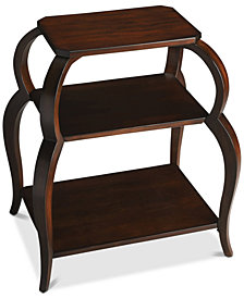 Shelby Tiered Side Table, Quick Ship