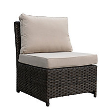 Courtyard Casual Rooftop Outdoor Chair with Cushions