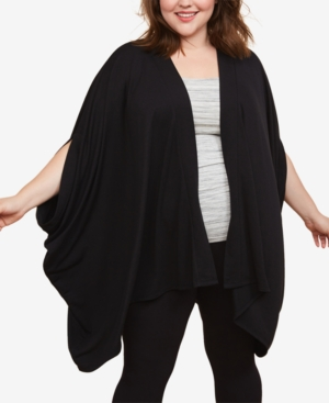 Motherhood Maternity Plus Size Draped Nursing Cardigan