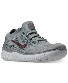 Nike Women's Free Run Flyknit 2018 Running Sneakers from Finish Line