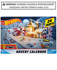 Mattel Hot Wheels Advent Calendar