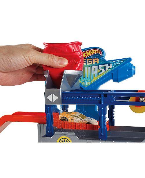 Hot Wheels Mattel Mega Car Wash Set All Toys Games Kids Macy S