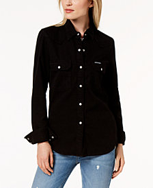 Calvin Klein Jeans Cotton Denim Shirt