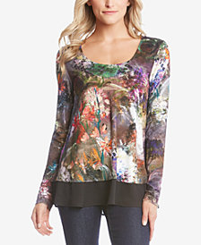 Karen Kane Layered-Look Top