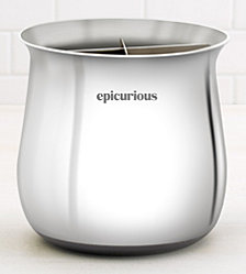 Epicurious Stainless Steel Utensil Holder