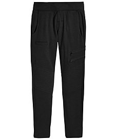 DKNY Big Girls Moto Jogger Pants