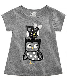 First Impressions Baby Girls Owls Graphic T-Shirt, Created for Macy's