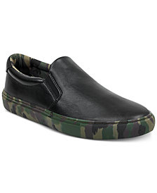 GUESS Men's Bello Camo Slip-Ons