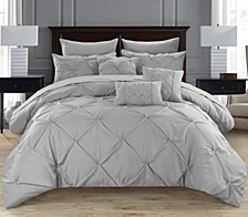 Hannah 10 Piece King Comforter Set