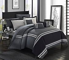 Zarah 10 Piece Queen Comforter Set