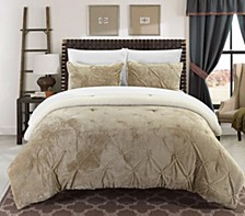 Josepha 7 Piece Queen Bed In a Bag Comforter Set