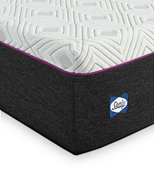 "Sealy to Go 12"" Hybrid Mattress - Quick Ship, Mattress in a Box"