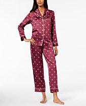 Alfani Pajama Sets Pajamas and Robes - Macy s c8a8d4191