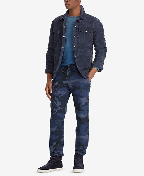 509ab25bd550 ... Polo Ralph Lauren Men s Camouflage Straight Fit Chino Pants ...