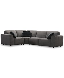 CLOSEOUT! Amboise 4-Pc. Fabric Sectional Sofa, Created for Macy's