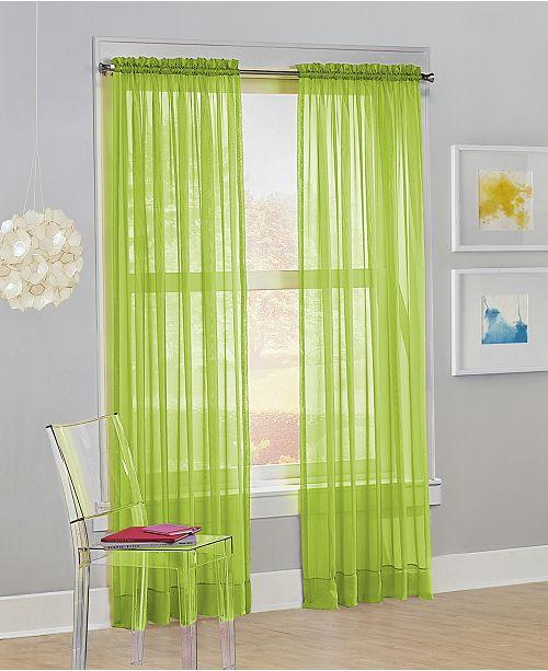 "No. 918 Calypso 59"" x 63"" Sheer Curtain Panel"