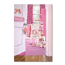"The Macneil Studio 'Girl's Room' Canvas Art, 12x19"""