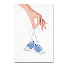 The Macneil Studio 'Blue Booties' Canvas Art