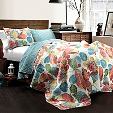 Layla Full/Queen Quilt 3Pc Set