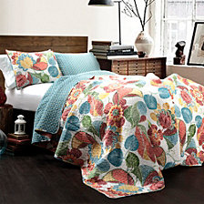 Layla  King Quilt 3Pc Set