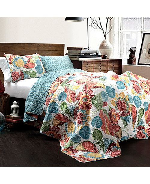 Chic Home Layla Quilt 3Pc Sets