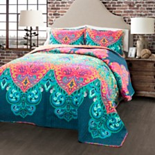 Boho Chic Quilt 3Pc Sets