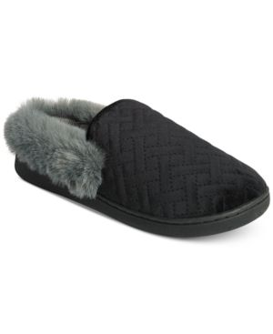 Image of Charter Club Quilted Slippers, Created for Macy's