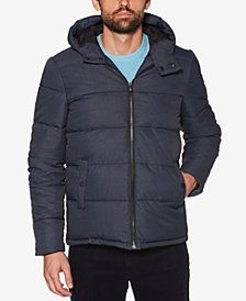 Original Penguin Men's Insulated Melange Puffer Jacket