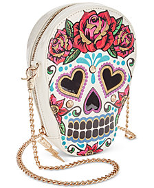 Betsey Johnson Sugar Skull Crossbody