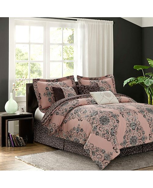 Sara B. Bardot Blush 7-piece Comforter Sets