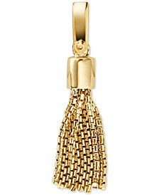 Women's Custom Kors 14K Gold-Plated Sterling Silver Tassel Charm