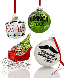 Holiday Lane Word Up Ornament Collection, Created for Macy's