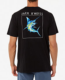 Jack O'Neill Men's Underbelly Swordfish Graphic T-Shirt