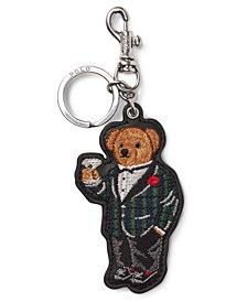 Polo Ralph Lauren Men's Polo Bear Leather Key Fob