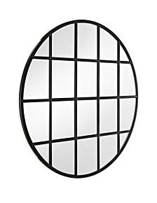 """40"""" Round Beveled Window Mirror"""