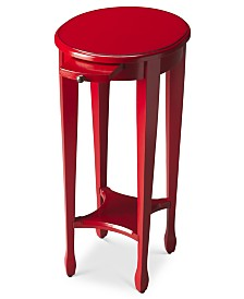 Arielle Round Accent Table, Quick Ship