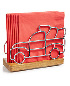 Martha Stewart Collection Truck Napkin Holder, Created for Macy's