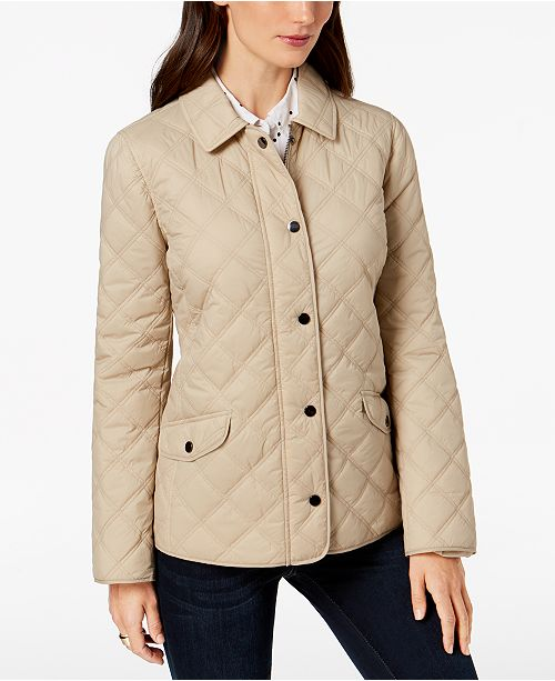 29c8c2698e25 Charter Club Quilted Jacket, Created for Macy's & Reviews - Jackets ...