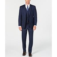 Michael Kors Men's Classic/Regular Fit Natural Stretch Wool Suit
