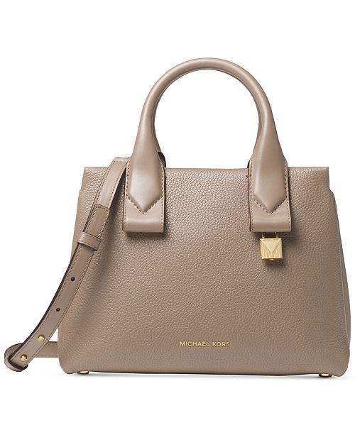 b29ee05dd4f1 Michael Kors Rollins Small Satchel & Reviews - Handbags ...