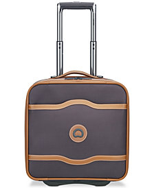 Delsey Chatelet Wheeled Under-Seat Carry-On Suitcase