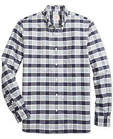 Brooks Brothers Men's Plaid Oxford Shirt