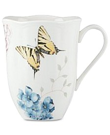 Butterfly Meadow  Hydrangea Mug