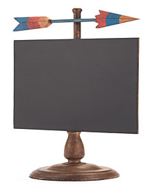 Arrow Chalkboard Black