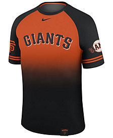 Nike Men's San Francisco Giants Dri-Fit Sublimated Raglan T-shirt
