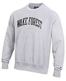 Men's Wake Forest Demon Deacons Reverse Weave Crew Sweatshirt